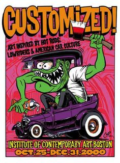 "Coop poster art:""Customized"" art show, Boston"