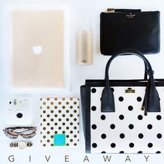 """Win a 13.3"""" Macbook Air + a Kate Spade bundle. Free electronics sweepstakes, prize value: $1,000.00, single entry, United States, Canada, 18+, by"""