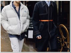 The best street style snaps from London's Fall 2017 men's shows. Photographs by Dan Roberts. Street Style 2016, Street Look, Autumn Street Style, Street Wear, Men Street, Denim Trends, Mens Fall, Style Snaps, Cool Street Fashion