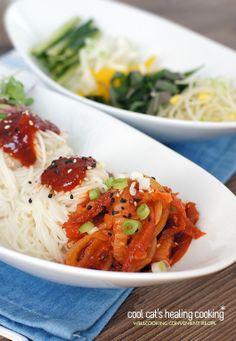 비빔냉면을 능가하는 아주 특별한 아이디어 레시피~황태비빔국수 - Daum 미즈쿡