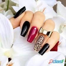Resultado de imagen para modelos de uñas con pinceladas