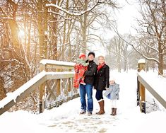 Winter Family Photo Snow PhotographyWinter PhotographyPhotography IdeasChristmas