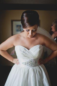 Rhinestone bridal sash