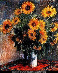 Sunflowers - Claude Oscar Monet