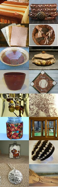 Soothing Earth Tones by Robert Murphy on Etsy--Pinned with TreasuryPin.com