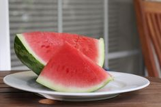 How to pick a watermelon?  Look at the light stripes: they should be jagged and broken.  Also look for the yellow spot on the bottom, where it rested on the ground, because it is better for that to be small.