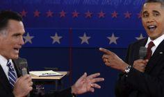 Romney v. Obama. Second Presidential Debate.
