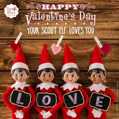 Happy #ValentinesDay from the North Pole!