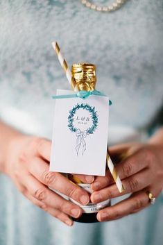 60 Best Engagement Gifts Ideas For Couples in 2019 ❤ engagement gifts little boottle Sarah Bradshaw Photography Creative Wedding Favors, Best Wedding Favors, Wedding Welcome Bags, Wedding Crafts, Engagement Gifts For Couples, Engagement Party Gifts, Wedding Favor Inspiration, Engagement Inspiration, Wedding Favours Bridesmaids