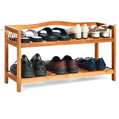 This shoe rack is a great addition for nearly any home as a simple home storage furniture. storage rack particularly for shoes and boots, but it also can used as storage shelf or plants rack. Shoe Storage Organiser, Bench With Shoe Storage, Storage Rack, Organizer, Storage Shelves, Storage Organization, 8 Pair Shoe Rack, Wood Shoe Rack, Extra Storage Space