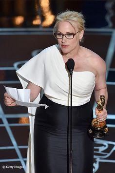Patricia Arquette - Oscars-2015 meilleure actrice dans un 2nd rôle pour Boyhood