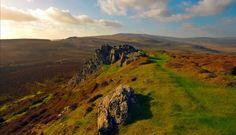 The Golden Road, Preseli Hills, Pembrokeshire, Wales.