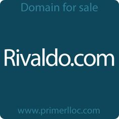 This #domain is for sale. #rivaldo