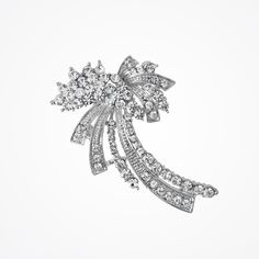Grace crystal brooch by Liberty in Love