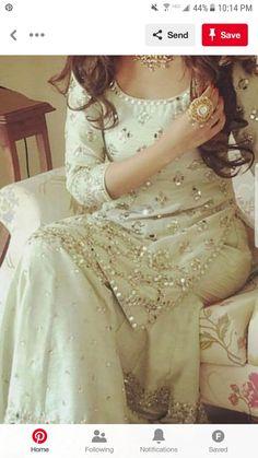 Moon sm know the prize Pakistani Wedding Outfits, Pakistani Bridal, Pakistani Dresses, Indian Dresses, Indian Outfits, Pakistani Sharara, Indian Designer Outfits, Designer Dresses, Party Wear Dresses