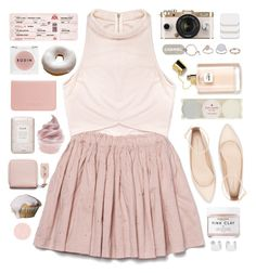 mini skirt by via-m on Polyvore featuring polyvore, fashion, style, Rituals, Zara, Coast, Maison Margiela, Topshop, Chanel, Acne Studios, COVERGIRL, Herbivore, Rodin Olio Lusso, Korres, Fresh, Kate Spade, Grace, Urban Outfitters and clothing