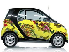 Fallen Fruit For Smart Car I Mean Its Tiny Yellow And Covered