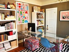 Make Home Offices More Homey with Art