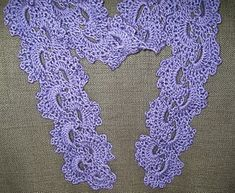 Queen Anne's Lace Crochet Scarf Tutorial (with pattern modifications) - crochet (do in variegated yarn - gorgeous!)