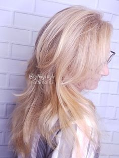 #sweet #honey #blode #balayage done by #sydneystyle at #thehairloft 989.366.8553