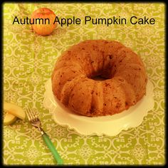 A Recipe for Autumn Apple Pumpkin Cake, an Unusual Pumpkin Patch Made of Glass, AND a New England Food Basket Giveaway | Meal Makeover Moms' Kitchen