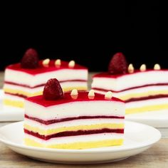 Cake Receipe, Home Food, Specialty Cakes, Panna Cotta, Cheesecake, Deserts, Clean Eating, Food And Drink, Ice Cream