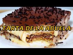Tarta de la Abuela súper fácil - Recetas de Tartas en Dibujos.net