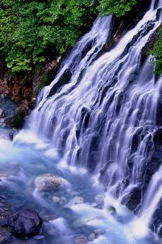 Shirohige Falls, Hokkaido, Japan