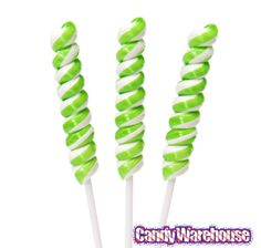 Just found Tesla's Tiny Twist Pops - Green & White: 48-Piece Box @CandyWarehouse, Thanks for the #CandyAssist!