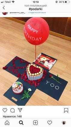 Diy gifts for boyfriend birthday ideas anniversaries New ideas Surprises For Your Boyfriend, Best Boyfriend Gifts, Valentines Gifts For Boyfriend, Boyfriend Ideas, Perfect Boyfriend, Valentines Bricolage, Valentines Diy, Diy Birthday, Birthday Gifts
