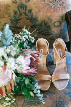 AN INTERTWINED EVENT: RUSTIC WOODLAND WEDDING IN PALOMAR MOUNTAIN | Intertwined Weddings & Events | Kylie Chevalier Photography  Shoes, Bouquet, Bridal Accessories