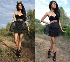 Mina in the Nasty Gal Harlow Dress #lbd || Get the dress:  http://www.nastygal.com/clothes/nasty-gal-harlow-dress?utm_source=pinterest&utm_medium=smm&utm_term=ngdib&utm_content=nasty_gals_do_it_better&utm_campaign=pinterest_nastygal