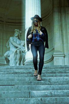 #Skinzee shot against Palais de Tokyo, Paris by @twinfashion during Paris Fashion Week.
