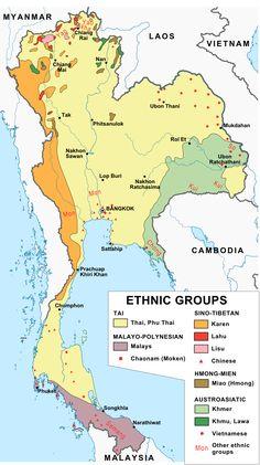 Thailand, ethnic groups