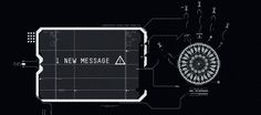 Total Recall UI Design. Ash Thorp. (UI, Holographics, CG, Film) #HUD