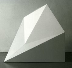 Sol LeWitt | Form Derivated from a Cube, 1988