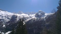 Blick zum Sella Nevea Skigebiet Half Dome, Mount Everest, Mountains, Nature, Travel, Voyage, Viajes, Traveling, The Great Outdoors