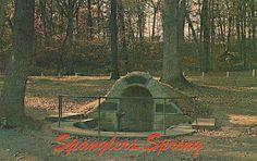 7/10 - Spangler's Spring, Gettysburg.