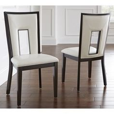 Greyson Living Domino Keyhole Dining Chair (Set of 2)