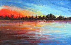 Artist Derek Collins Blog, Abstract landscape paintings , and ...