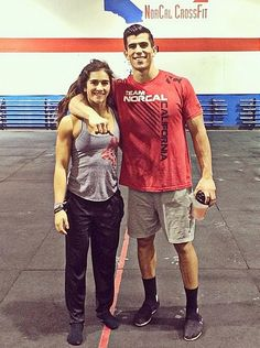 Lauren and Garret Fisher---I would love to be able to train with my siblings. We'd be unstoppable. Not to mention, we'd make up a full team! :(