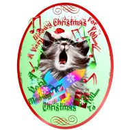 Design ~ Christmas Carol Kitty Ova