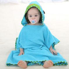 1d97a733b4 Baby  amp  Toddler  amp  Chidrens cute cotton animal hooded bathtowel -  Qclouth http