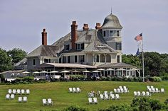 Castle Hill Inn, Newport, RI | Neighboring Hammersmith Farm, where John F. Kennedy and Jackie-O were married