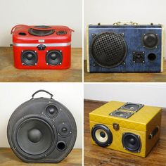 You know we love when random objects become boom boxes. From sneakers to fanny packs, it seems that speakers are showing up just about everywhere. And now, vintage suitcases are catching on. Born in Nashville, Thump Trunk was founded by a photographer-turned-audio-tinkerer and is all about repurposing and rocking out.