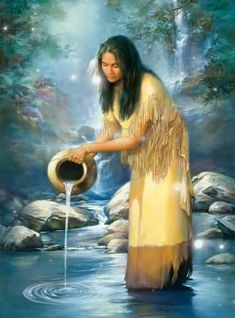 embroidery tape Picture - More Detailed Picture about Diy Diamond painting kits waterfall maiden native american indian home decoration cross stitch kits diamond embroidery patchwork Picture in Diamond Painting Cross Stitch from REDIY LADIY Store Native American Paintings, Native American Pictures, Native American Beauty, American Indian Art, Native American History, Native American Indians, American Symbols, Native Americans, Native Indian