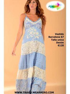 Vestido Barcelona 67, Vestidos - Ropa de viaje, ropa de crucero, ropa de vacaciones - Travel Wear Miro
