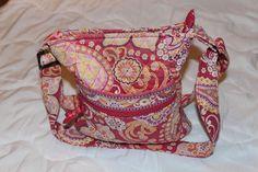 Vera Bradley Hipster Crossbody Bag Purse Retired Raspberry Fizz #VeraBradley…