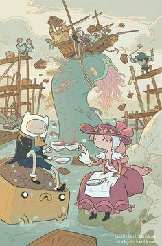 #adventuretime 5 çayı