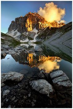 Drakolimni (Dragonlake) on mount Timfi, Epirus Greece. http://www.wondergreece.gr/v1/en/Regions/Ioannina_Prefecture/Nature/Lakes/7600-Drakolimni_Gamila